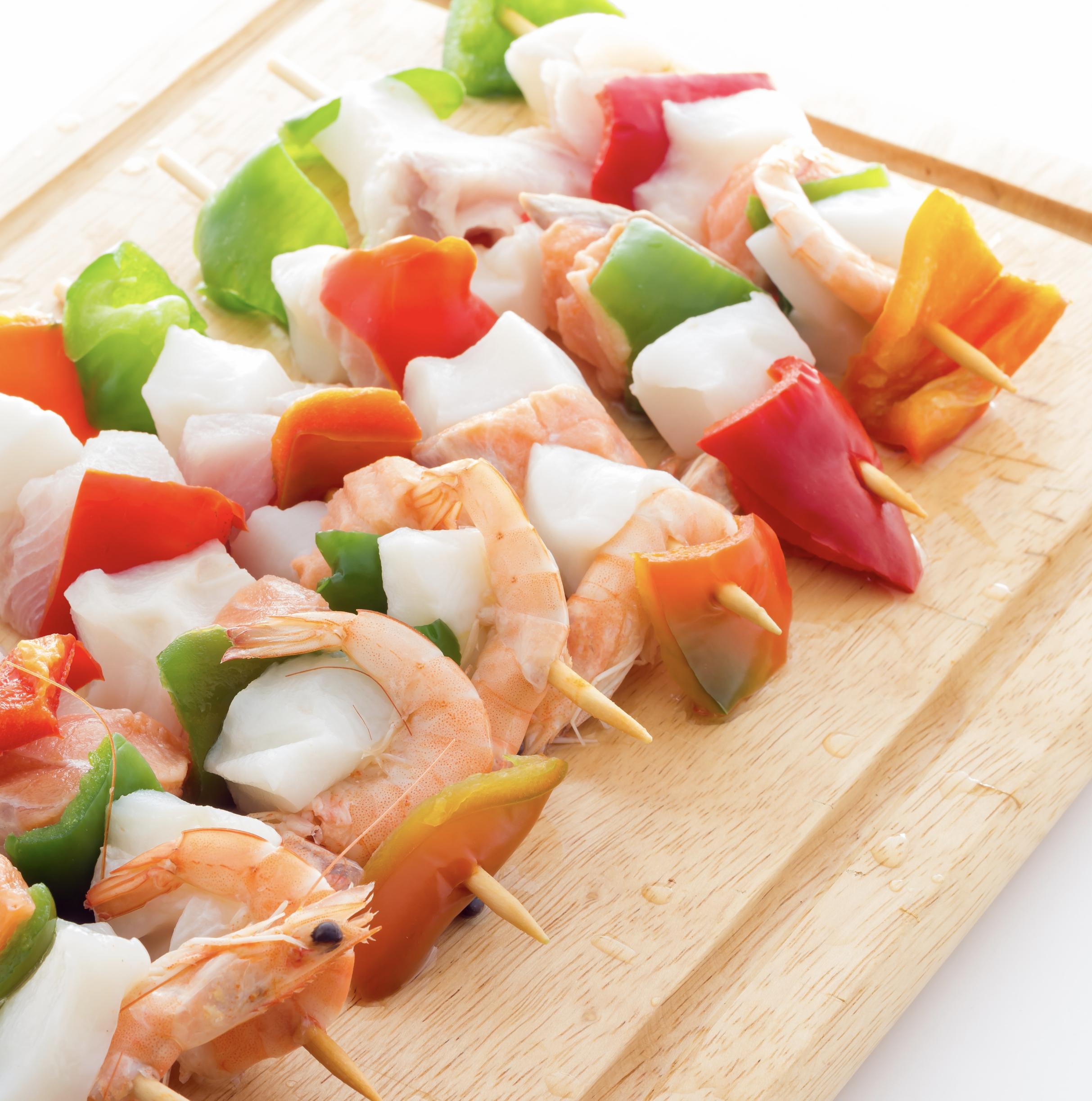 spiedini di pesce fe ricette light programma dieta mediterranea perdere peso velocemente clinica di dimagrimento centro ferrara magrella