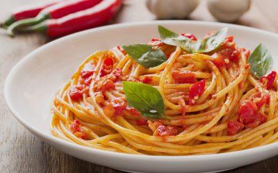 Spaghetti al pomodoro piccante