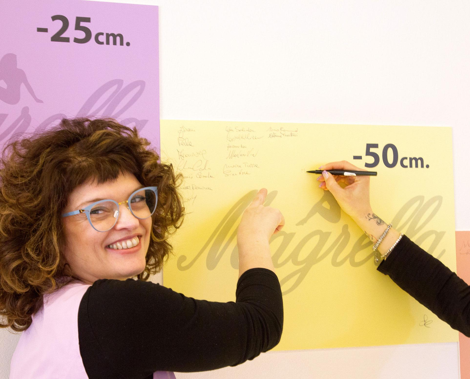 -25 -50 cm Magrella Ferrara centro dimagrimento clinica per dimagrire dieta facile veloce perdere peso