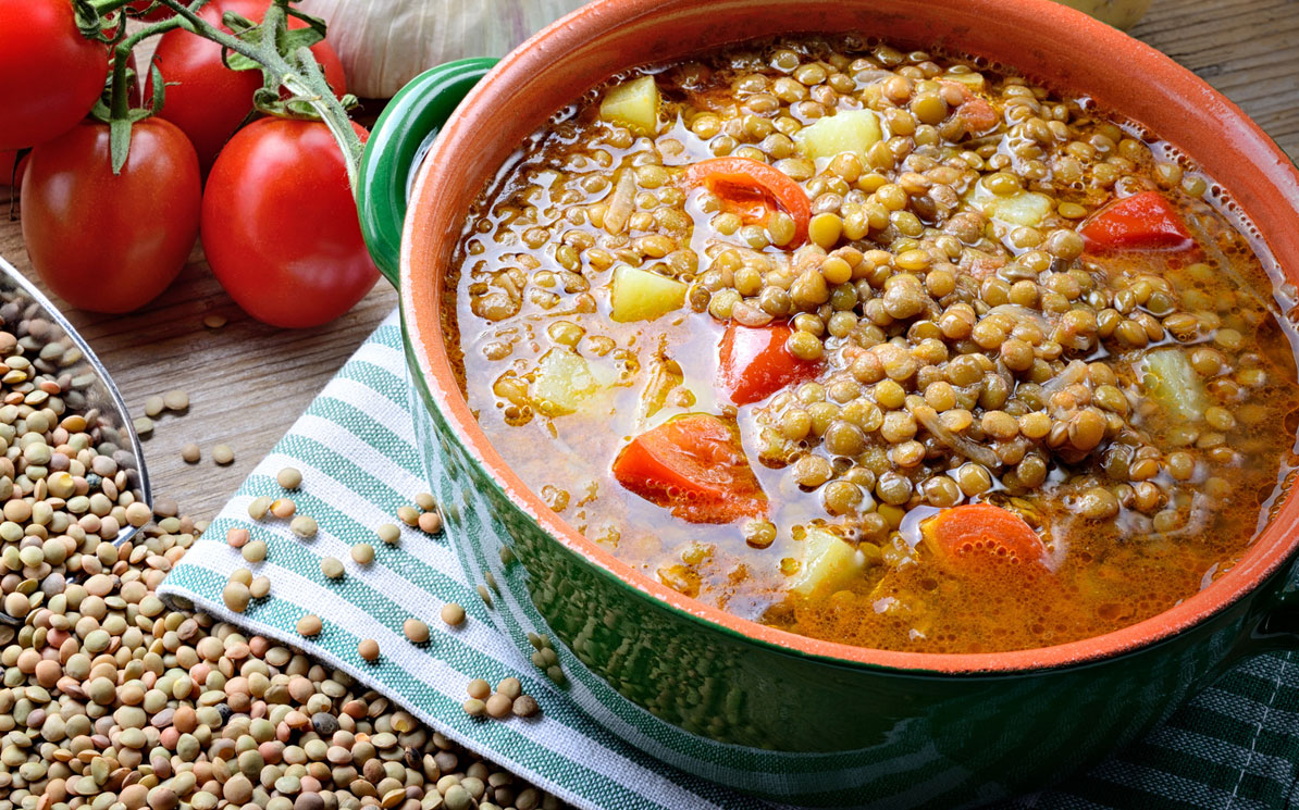zuppa lenticchie light Magrella Ferrara centro dimagrimento clinica per dimagrire dieta facile veloce perdere peso ricette light