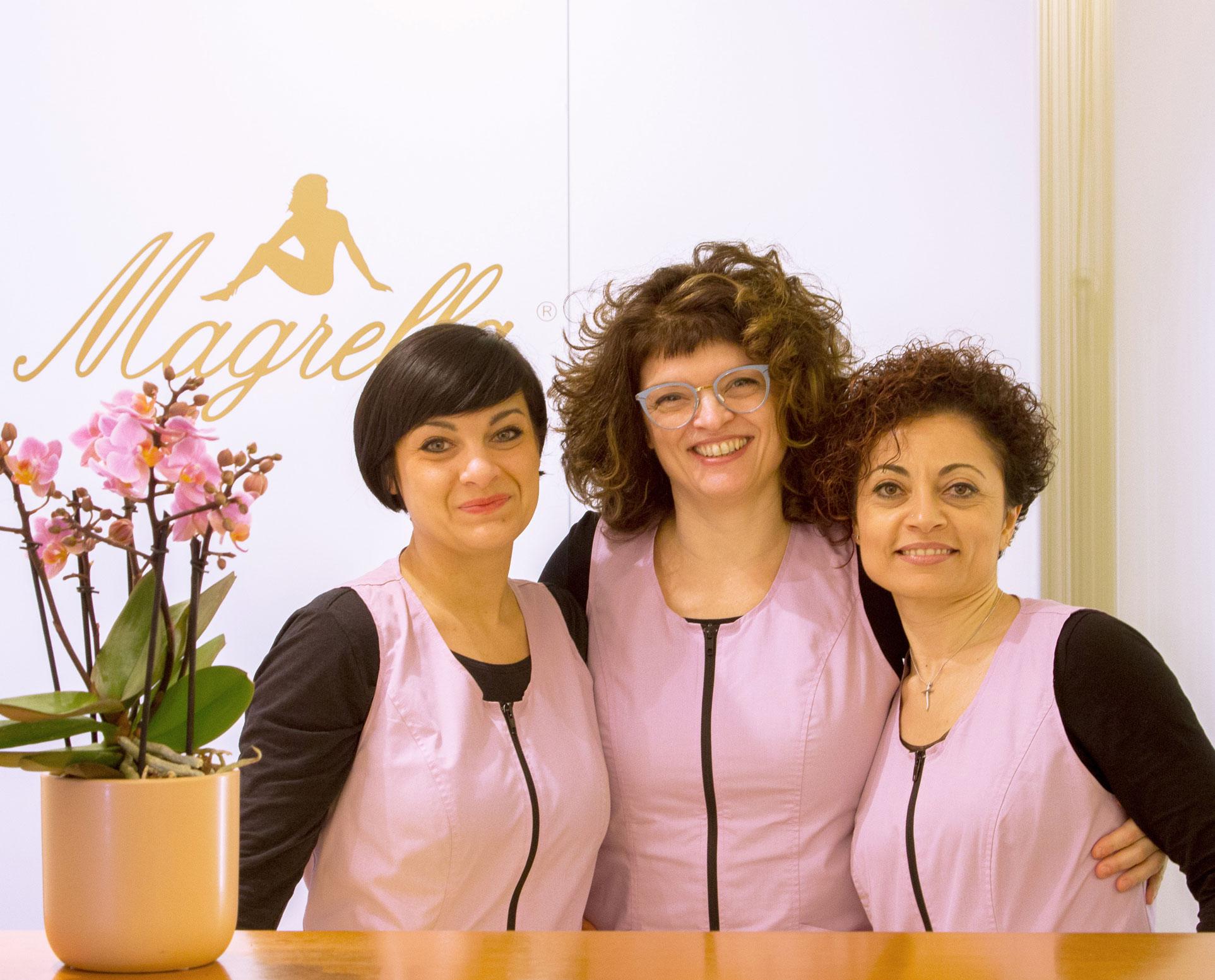 staff professionale Magrella Ferrara centro dimagrimento clinica per dimagrire dieta facile veloce perdere peso