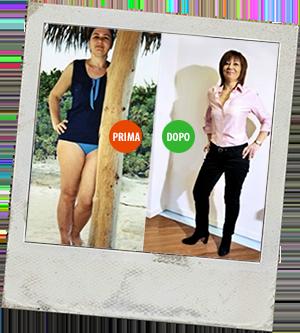 Magrella Ferrara centro dimagrimento clinica per dimagrire dieta facile veloce perdere peso prima e dopo 2